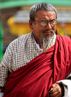 Bearded man, Bhutan