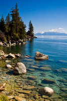 Lake Tahoe North side showing the clear, clean water