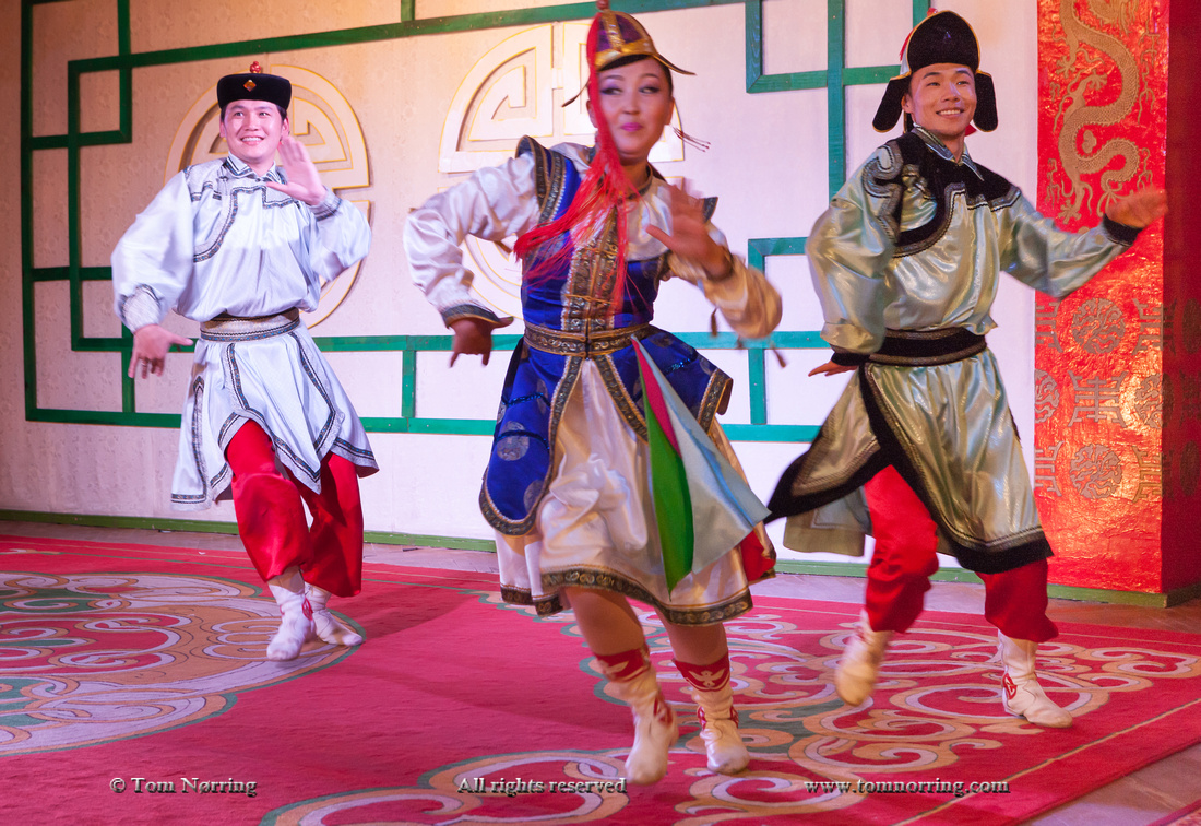 Traditional Dance and music, Ulaanbaator, Mongolia.