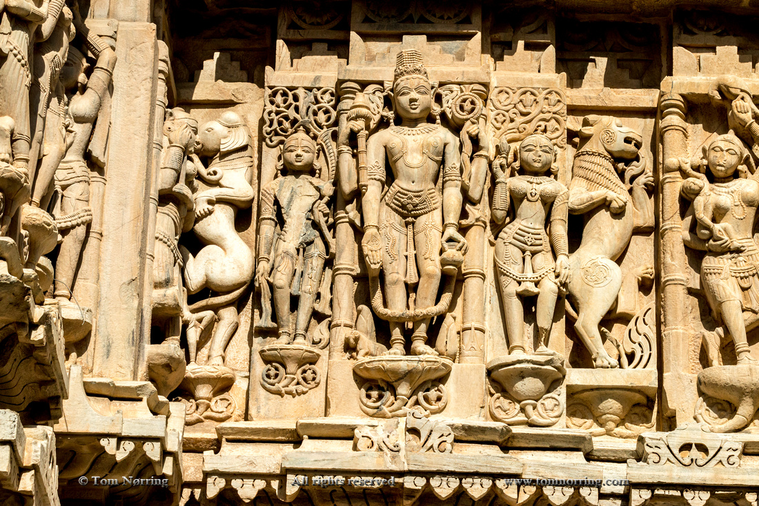 Bas Relief. Jagdish Temp[le. Udaipur Rajasthan. India.
