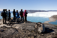 Ice Camp Eqi. Greenland.