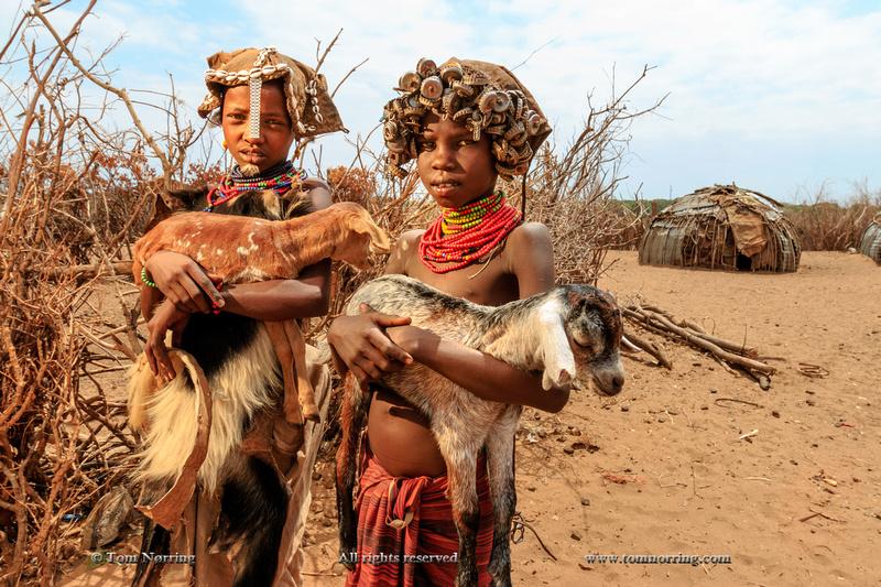 Dasanech children. Ethiopia,Africa.